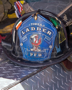"Providence, RI - Helmet - ""Tower Ladder Co 1"" - IFBA National Convention (NEFCON '07) - Boston to Providence Bus Trip"
