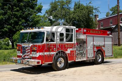 Warren MA Engine Co.3 2011 Pierce Saber 1250/1000/20foam - 2013 Box 52 Assn Bus Trip - Quaboag Valley Mass