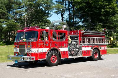 Bondsville MA Engine Co.1 1997 Pierce Sabre 1500/1000 - 2013 Box 52 Assn Bus Trip - Quaboag Valley Mass