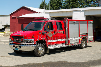 Brimfield MA Rescue 1 2005 GMC C5500/VRS - 2013 Box 52 Assn Bus Trip - Quaboag Valley Mass
