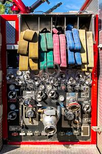 Ware MA Engine Co.3 1996 HME/CentralStates 2000/750 - 2013 Box 52 Assn Bus Trip - Quaboag Valley Mass
