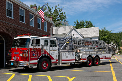 Palmer MA Tower Co.1 1995 Sutphen 1500/300/90ft midmount tower - 2013 Box 52 Assn Bus Trip - Quaboag Valley Mass