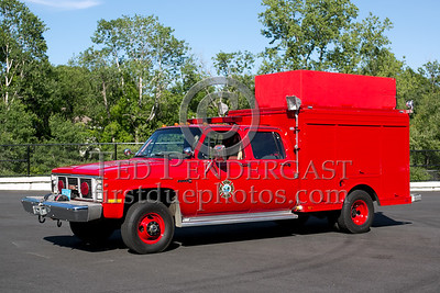 Ware MA Rescue 1 1987 GMC/Landoll 4x4 - 2013  Box 52 Assn Bus Trip - Quaboag Valley Mass