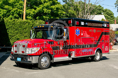 Belchertown MA Ambulance 3 52-A3 2013 International TerraStar/Horton- 2013 Box 52 Assn Bus Trip - Quaboag Valley Mass