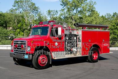 Ware MA Engine Co.2 1982 International/Pierce 1500/500 - 2013 Box 52 Assn Bus Trip - Quaboag Valley Mass