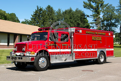 Bondsville MA Rescue Co.1 1994 International 4900/EVI - Former Glassboro NJ - 2013 Box 52 Assn Bus Trip - Quaboag Valley Mass