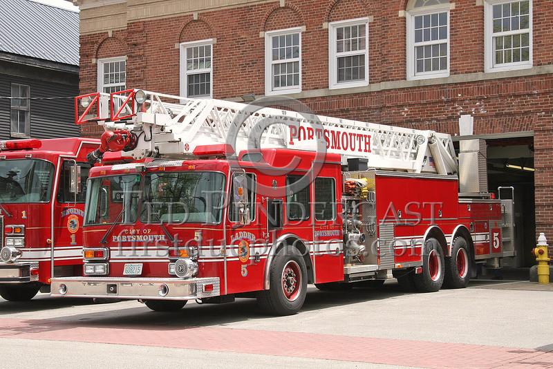 Portsmouth,NH Ladder Co. 5