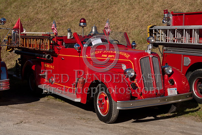 West Stockbridge MA former Engine 2 - 1950 Seagrave 500gpm pumper