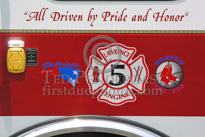 Lawrence,MA Engine Co.5 - Emblems