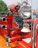 Antique American LaFrance Pumper - Bell And Spotlight