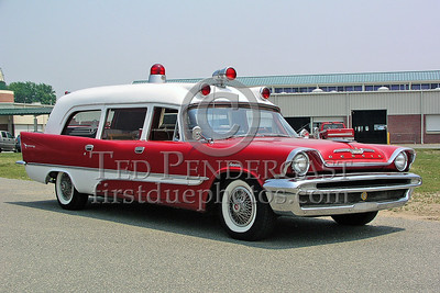Antique Desoto Ambulance