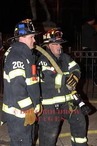 Winthrop, MA - Firefighters Pat O'Brien and Steve Calandra