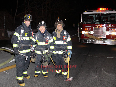 Chelsea, MA - Engine 3 at a fire in Revere, 12-30-09