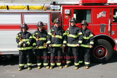 Winthrop, MA firefighters with new gear