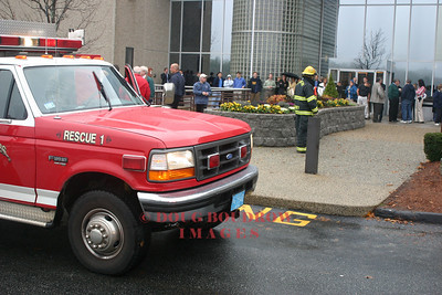 Danvers, MA - A building on Rosewood Drive was evacauted after a strange odor was reported in the building and occupants reported feeling sick, 11-16-06