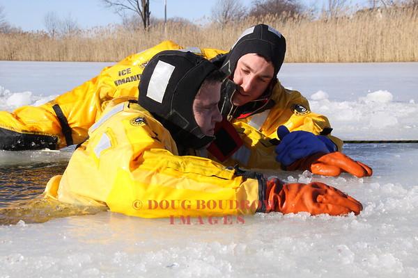 Winthrop, MA - Ice Rescue Training, 2-9-09
