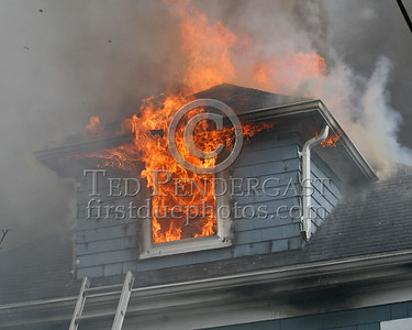 Fire venting through dormer & roof