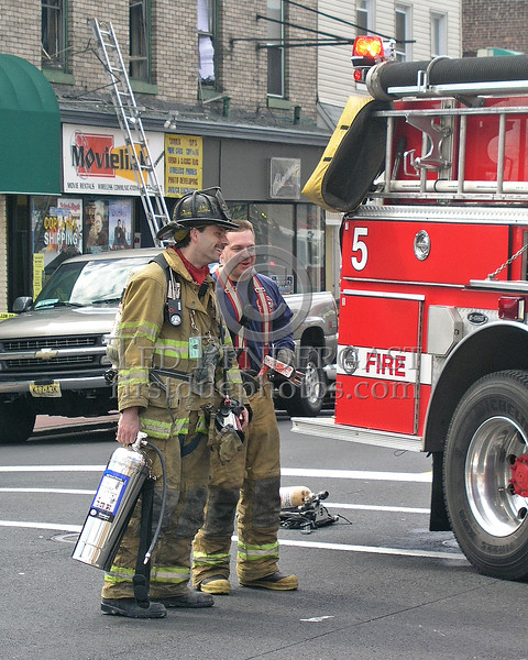 Bayonne,NJ FD - Wrapping it up