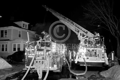 Belmont MA - 2 Alarms at 20 Trowbridge St