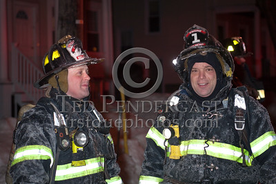 Belmont MA - 2 Alarms at 20 Trowbridge St