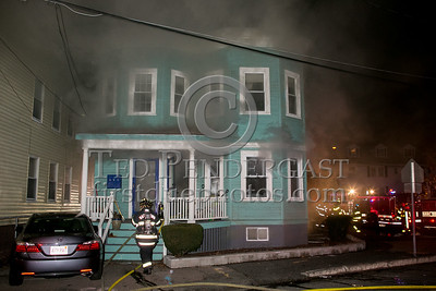 Belmont MA - 3 Alarms at 50-52 Grove St