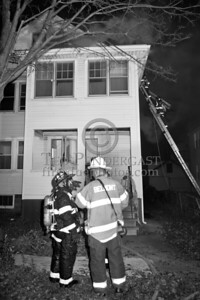Belmont MA - 3 Alarms on Beech St opp Harris St