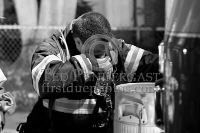 Belmont MA - 3 Alarms on Beech St opp Harris St