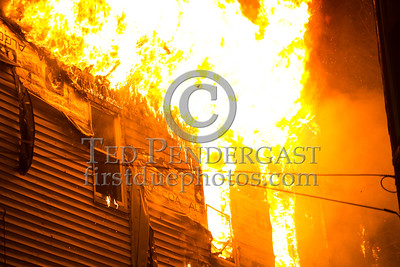 Belmont MA - 3 Alarms at 58 Marlboro St