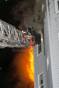 Belmont MA - 3 Alarms at 58 Marlboro St