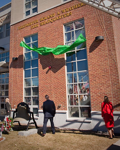 Belmont MA - FF Roland Weatherbee HQ Station Dedication