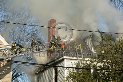 Boston MA - 3 Alarms Box 514 for 87 Linden St