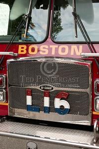 Boston MA - 5 Alarms on Mansfield St - Dist.11