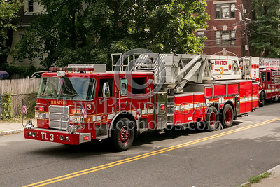 Boston MA - 5 Alarms on Mansfield St - Dist.11
