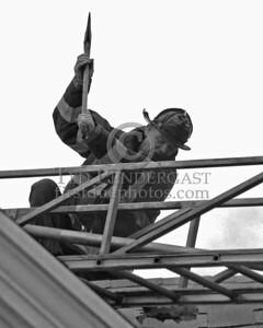 Ladder 23 roof