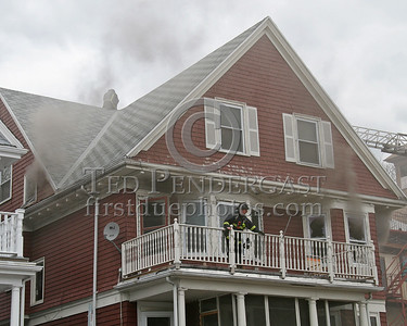 Smoke showing - Interior attack underway