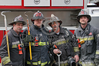All In The Family - (Left & 2nd from Right) Brothers Neal and Robbie S. - (Right & 2nd from Left) Bo and Nick S., sons of Robbie and nephews of Neal.