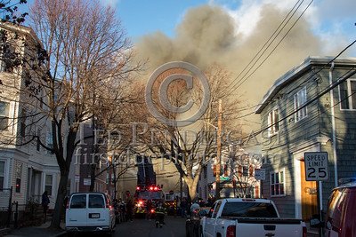 Cambridge MA - 10 alarms Box 236 on Berkshire St near Vandine St