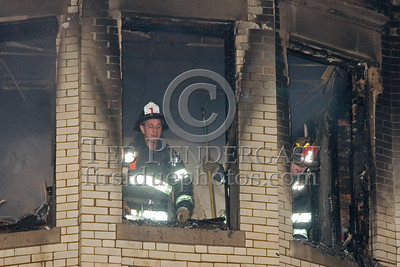 Cambridge, Mass. - Fire in an apartment on floor 3 of a 4 sty OMD 75 x 100. Overlapping fire extended to floor 4.