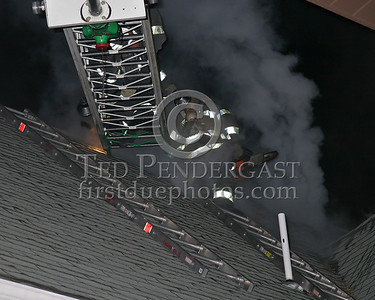 Ladder 1 completing vertical ventilation