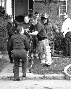 Detroit,MI - Working Fire - 5782 Wabash St corner Antoinette St - One Occupant Rescued By FFs - CPR At Scene - 10-45-1