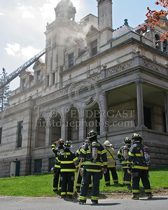 Working Fire - Dobbs Ferry,NY - The Masters School - Clinton Avenue