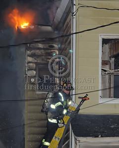 Attack Line Over Ground Ladder