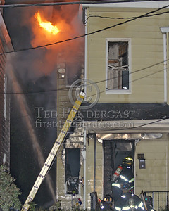 Fire Venting From The Gutter Line On The Bravo Side