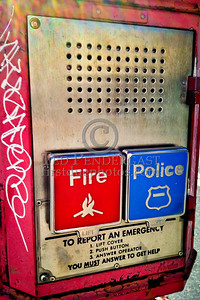 FDNY ERS Box Greewich Av and W 10th St  Manhattan