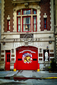 FDNY - Engine Co.23 Firehouse - 215 West 58th St. Manhattan