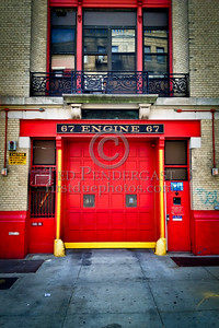 FDNY - Engine Co.67 Firehouse - 518 West 170th St. Manhattan