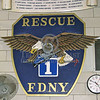 "Plaque - FDNY - The Quarters Of Rescue Co.1 - MidTown Manhattan - ""Outstanding"""