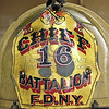 "Helmet - 16th Battalion FDNY - ""The Harlem Hilton"""