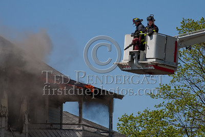 Lawrence MA - 3 Alarm House Fire On Packard St