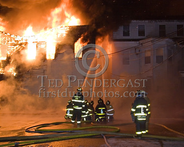5+Alarms transmitted for a major fire that destroyed or damaged nearly a dozen buildings in South Lawrence in the frigid early morning hours of Mon.,Jan.21,2008.